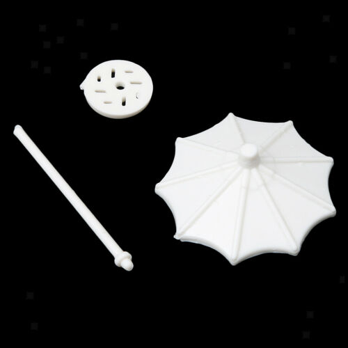 150 Kunststoff Regenschirm Modell Sand Tisch Strand Szene 10 STÜCKE 1