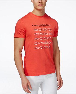 Lacoste Men/'s Full-Zip Sweater Red :  MSRP $145 FREE SHIP SH2455 51 GRU