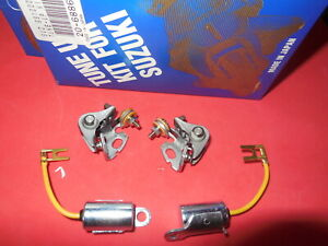 Condenser-amp-Contact-Points-Kit-tune-up-gs550-gs1000-gs850-gs750-for-ND