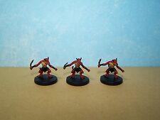 Kobold Guard x3 - Rage of Demons #3 D&D Miniature
