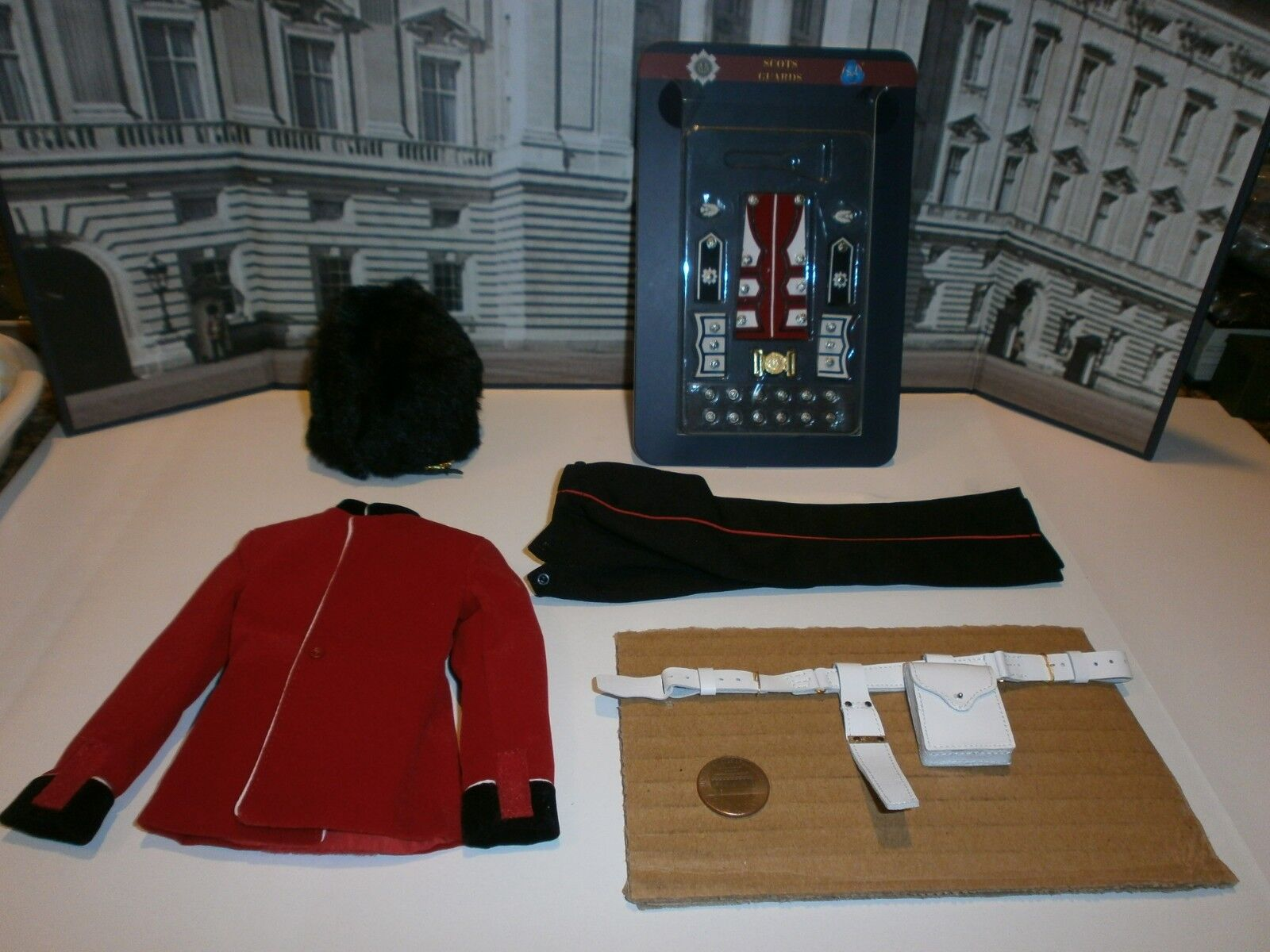 Did The Guards Scots Guards uniform set 1/6th scale toy accessory