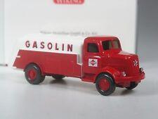 Raras: Wiking Henschel Hs 100 camión cisterna Gasolin en OVP