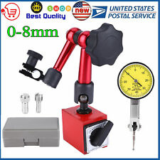 Magnetic Base Holder Stand Dial Test Indicator Gauge Scale Precision Kit Set p