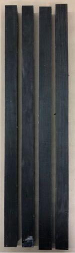 Schwarzes EbenholzEbonyDrechselholzTonholzTonewood800 x 40 x 40mm