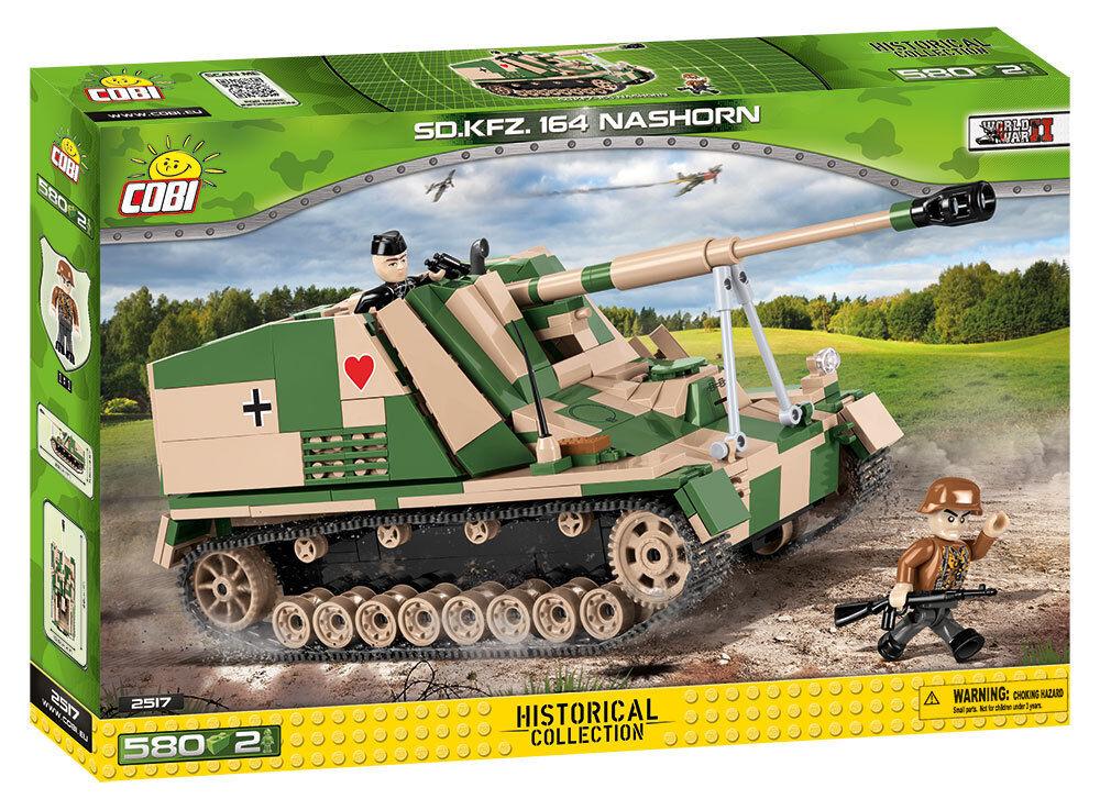 Cobi 2517 - Small Army - WWII Dt. Sd.Kfz.164 Nashorn - Neu