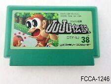 Juju Densetsu Famicom Japanese Import FC Nintendo Toki NES Japan US Seller A