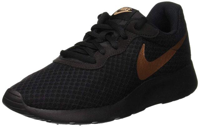 Nike WMNS Tanjun 812655 002 schwarz Weiß Damenschuhe US Größe 7.5 UK 5