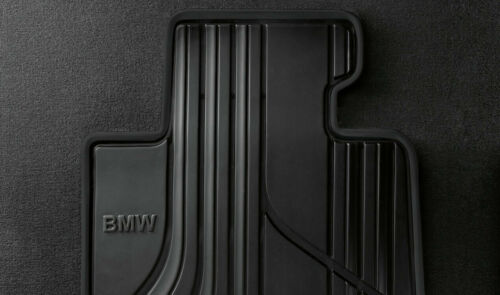 Original BMW 2er Active Tourer F45 Gummimatten Fussmatten hinten 51472287859 NEU
