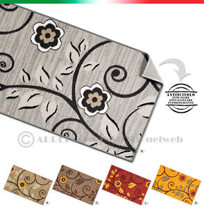 Tapis de sol moderne de cuisine antid rapant diff rentes tailles tiss plat ebay for Tapis de sol cuisine moderne