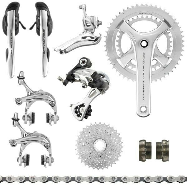 Campagnolo Silber Centaur 11sp. Group 170mm 52-36T   11-29T or 12-32T