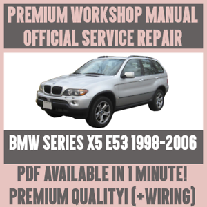 Astonishing Workshop Manual Service Repair Guide For Bmw X5 E53 1998 2006 Wiring Database Gentotyuccorg