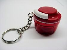 Tupperware  Keychain Keyring TURBO Chef RED  NEW Nr 56