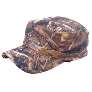 Camouflage-Men-039-s-Baseball-Hat-Tactical-Hunting-Army-Adjustable-Snapback-Cap-Camo