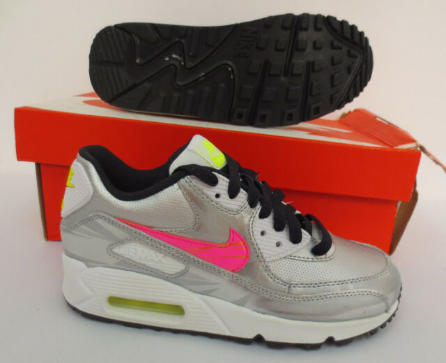 online store 6bd47 cdbf4 Air Max 90 FB GS Youth 3.5 Girls Nike Running Shoes School Sneaker 705392  001 for sale online   eBay