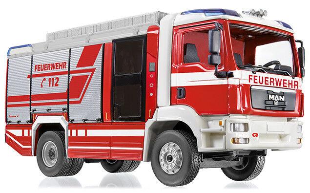 Wiking 043197 - 1 43 Feuerwehr - pinknbauer AT LF (MAN TGM) - Neu