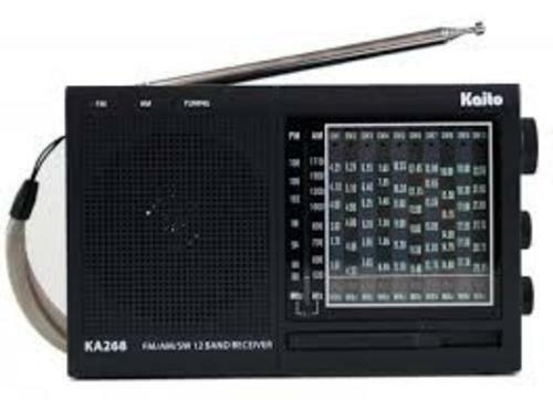 Kaito KA268 World Receiver AM//FM//10 Shortwave Bands Free Shipping in USA!