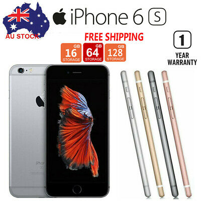 Details about  iPhone 6s 16GB/64GB/128GB Factory Unlocked 4.7″ Smartphone NEW&SEALED Phone