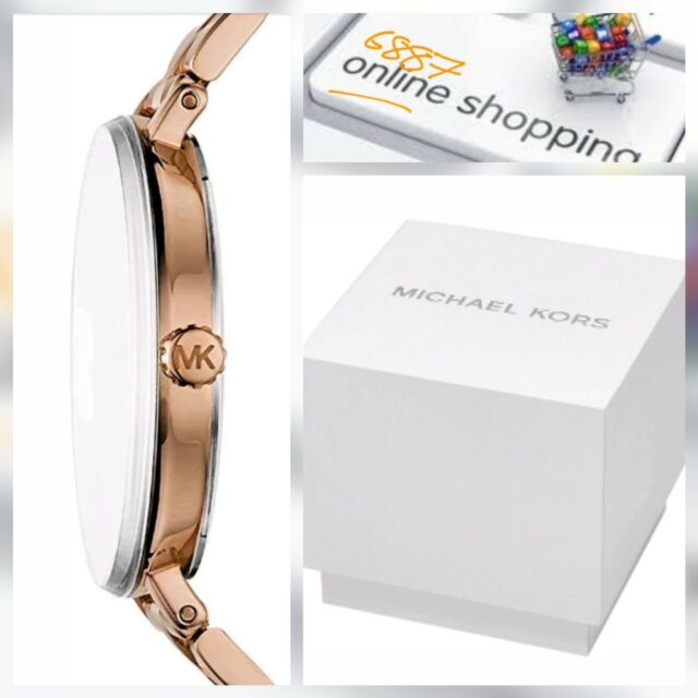 488766a74d9b5 Womens Analogue Quartz Watch with Stainless Steel Strap MK3793 Michael Kors  🆕️