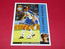 MOISES ARTEAGA ESPANYOL BARCELONA PANINI LIGA 95-96 ESPANA 1995-1996 FOOTBALL