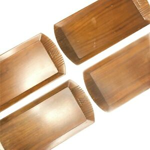 Vintage Art Deco Toastmasters Hospitality Trays 16x7 Set Of 4 McGraw Electric Co