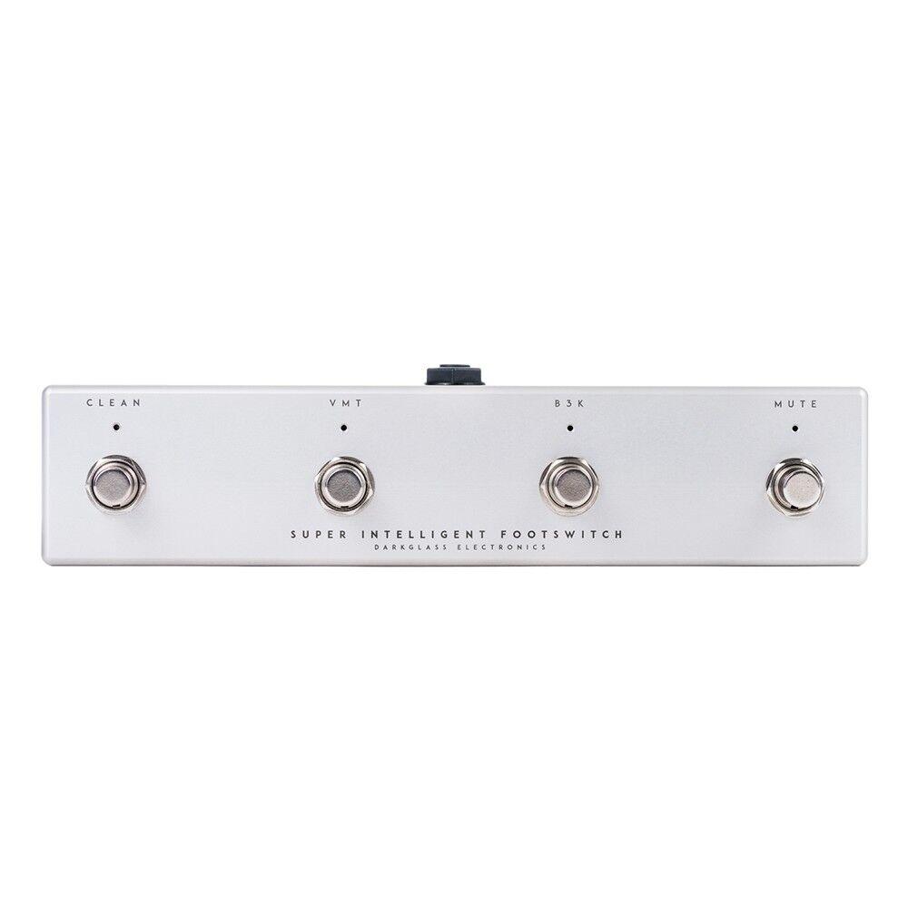 Darkglass Electronics Super Intelligente Fußschalter für Microtubes 900 Bass Amp