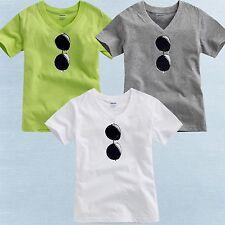 "Vaenait Baby Toddler Kids Boy Unisex V-Neck Top T-Shirts "" Sunglasses """
