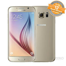 4G 16.0MP Samsung Galaxy S6 SM-G920 Unlocked Smartphone Cellphone 32GB Grade A