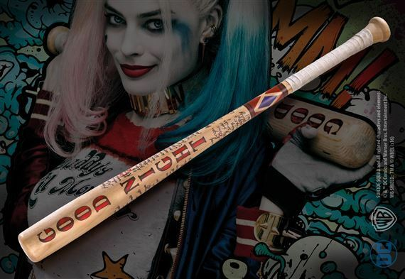DC Comics Suicide Squad Harley Quinn Baseball Bat Collectable Home Decor