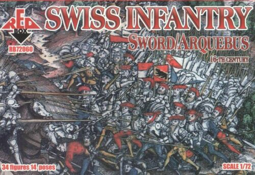 Bundle lot of Red Box Swiss soldiers 4 kits 72060+72061+72062+72065 1//72 scale