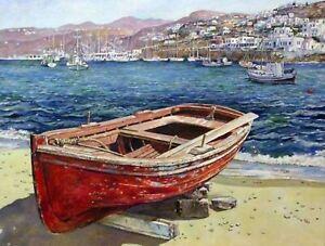Greece Van-go Paint-By-Number Kit N128