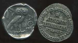 MéThodique Athenes Tetradrachme V Av Jc Collection Bp ( Bis )