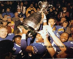 CFL 1958 Winnipeg Blue Bombers Grey Cup Champs Color Team Photo 8 X 10 Photo