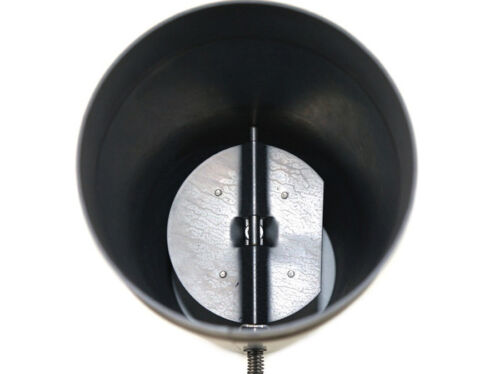 Rauchrohr taulard tube en acier longueur 750 mm Papillon gueule DN 150 mm Noir NEUF