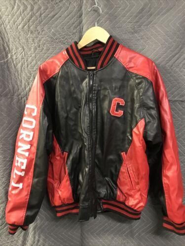 Cornell Leather Letterman Jacket