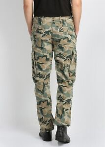NWT-Men-039-s-Levi-039-s-ACE-Cargo-Casual-Pants-124620001-Choose-Size-Combat-Camo-Green