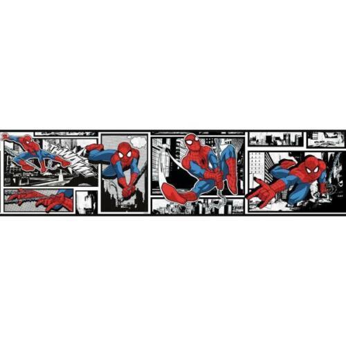 Marvel Ultimate Spider-Man Comic on Sure Strip Wallpaper Border DY0250BD