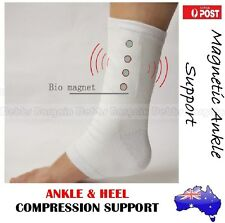 RECOVERY MAGNETIC HEEL & ANKLE JOINT COMPRESSION SUPPORT SORE PAIN THERAPY SOCK