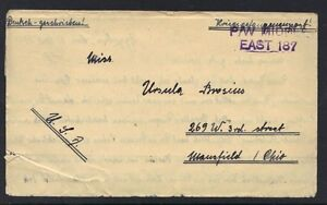 GERMANY-EGYPT-1945-GERMAN-POW-PRISONR-OF-WAR-LTR-FROM-CAMP-305-IN-8-TO-MANSFIELD
