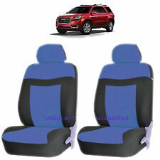 BLUE ELEGANCE AIRBAG COMPATIBLE LOWBACK SEAT COVERS SET for GMC CANYON SIERRA