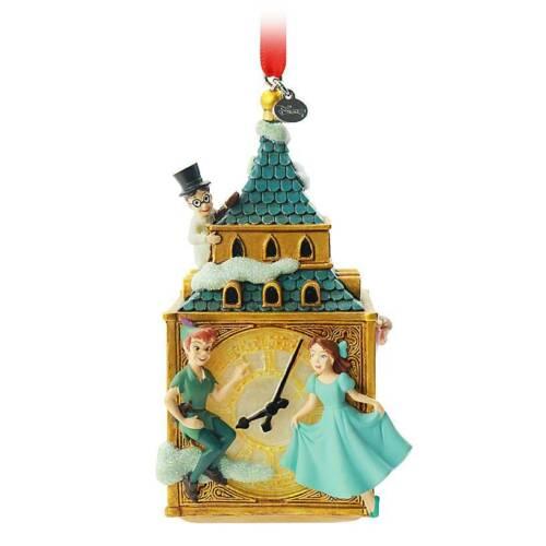 Disney 2020 Peter Pan Et Darling Enfants Croquis Ornement Neuf avec Étiquette