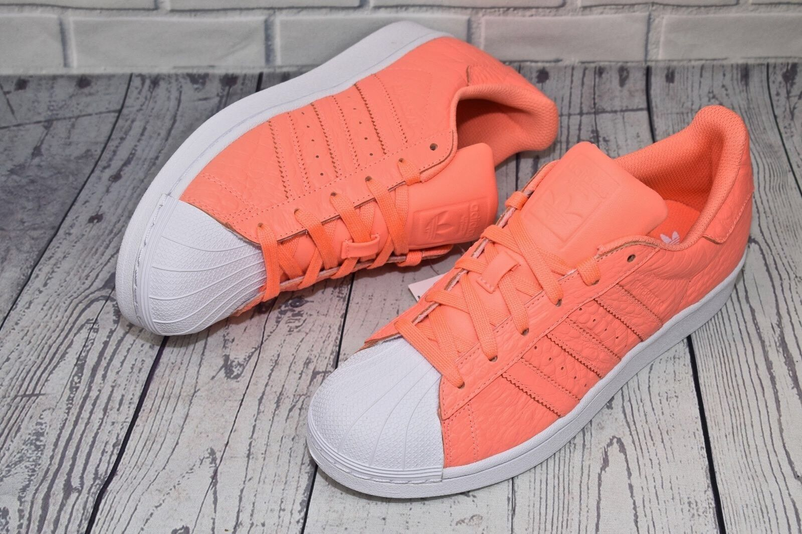 Adidas Originals SUPERSTAR W AQ2721 Sunglow White Size UK 6 EU 39 1 3 New