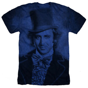 Willy-Wonka-Film-Gene-Wilder-Heather-T-Shirt-Toutes-Les-Tailles