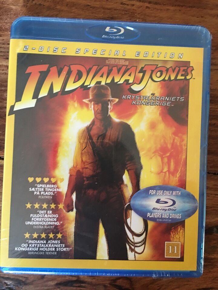 L.O.L, Indiana Jones, Blu-ray