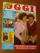 OGGI 1984/10=LAURA ANTONELLI=FREDDY NAGGIAR=GIUSEPPE MARTELLUCCI=CARLA RONCI=