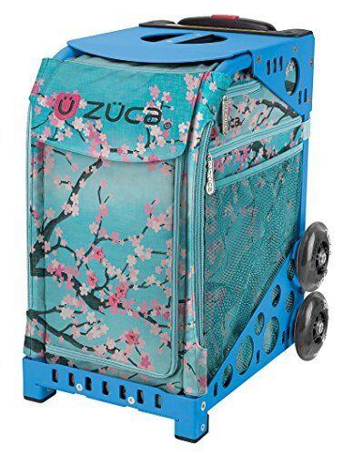 Zuca Hanami Sport Insert Bag & bluee Frame with Flashing Wheels