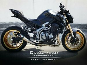 Details about CRAZY IRON KAWASAKI Z900 Stunt Cage Engine Guard Crash Bars