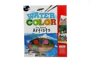 SpiceBox-WATERCOLOUR-PENCILS-amp-PAINTING-SET-Art-Brushes-Paints-Pad-amp-MORE