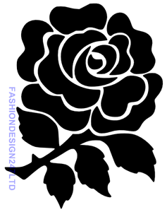 FLOWER ROSE MYLAR STENCIL CRAFT HOME DECOR PAINTING WALL ART 125//190 MICRON