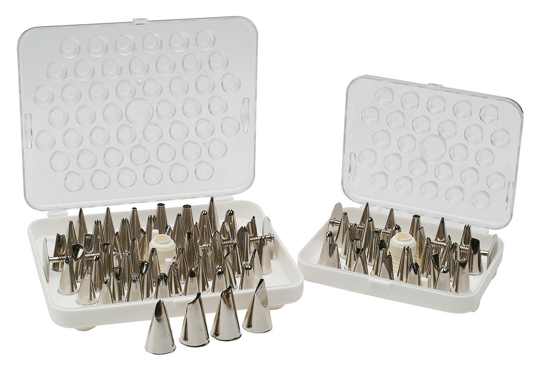 Piazza Effepi - Scatola bocchette in acciaio inox 26 pezzi