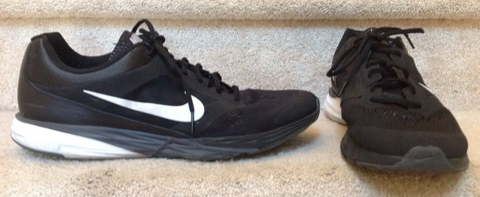 Nike Tri Fusion Run Mens Black Running Shoes with Fitsole Price reduction